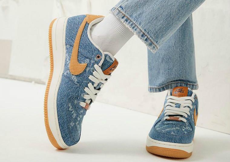 Levi's,Nike,Nike By You  满印弹幕!Levi's x Nike 联名发售日期曝光,入手方式很特别!