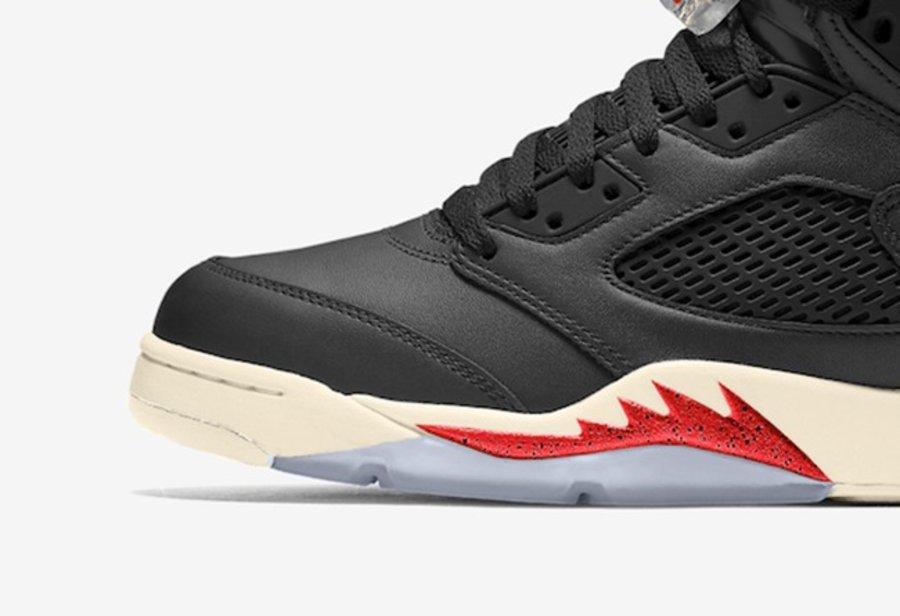 Air Jordan 5,AJ5,CT8480-001,Bl  哑光质地皮革,高级配色方案!全新 Air Jordan 5 首度曝光!