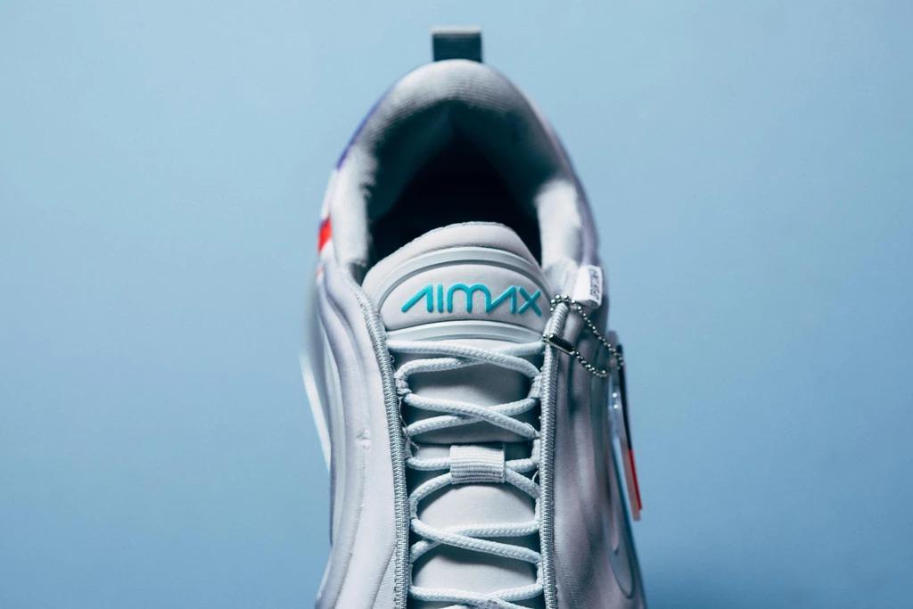 Air Max 720,Nike,发售,AR9293-011  液态银 + 彩喷涂鸦!这双 Air Max 720 新品别错过!