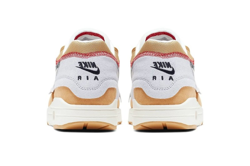 Nike,Air Max 1,Inside Out,  内外翻转,不一样的解构!这双 Air Max 1 有点酷!