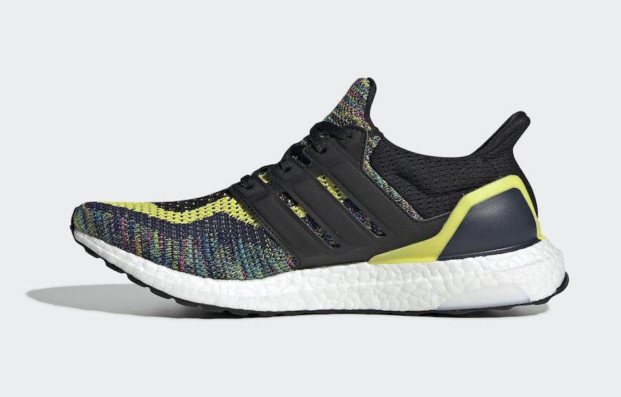 adidas,Ultra Boost 2.0,发售,EG81  全新彩虹编织鞋面!Ultra Boost 2.0 全新配色官图释出