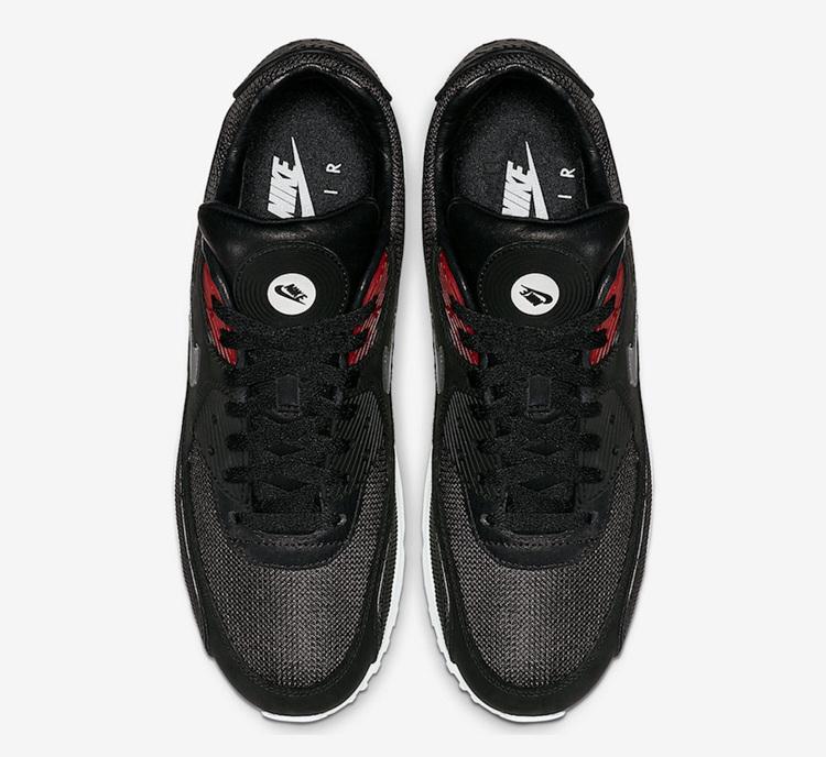 """Nike,Air Max 90 Premium,CK0902  鞋舌加入黑胶唱片!Nike Air Max 90 Premium """"Vinyl"""" 曝光!"""