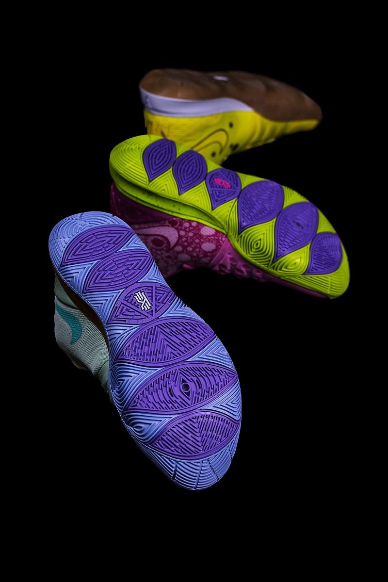 海绵宝宝,Nike,Kyrie5  SNKRS 上线预告!海绵宝宝联名鞋国内发售信息来了!