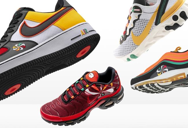 Nike,Sunburst,Air Force 1,Air  Nike Sunburst 系列本月发售!多彩配色方案非常抢眼!