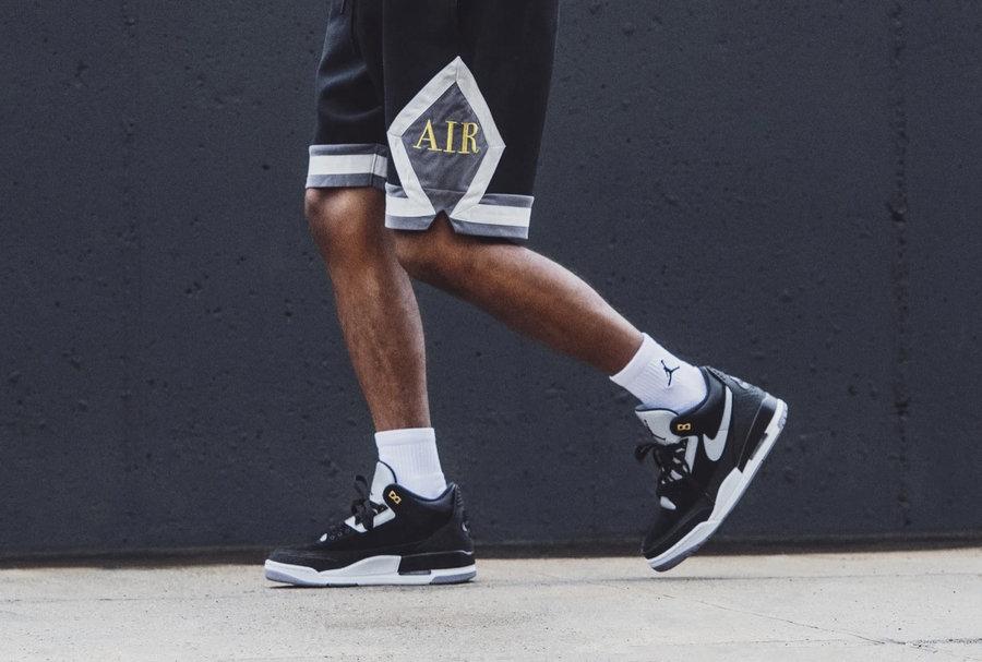 Air Jordan 3 Tinker,上脚,发售,CK43  质感出众上脚超帅!黑水泥 Air Jordan 3 Tinker 明日官网发售