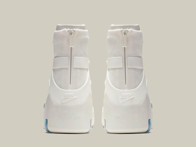 Nike,Fear of God,FOG,Air Fear  市价破四千!纯白 Air Fear of God 1 来了,即将抽签发售!