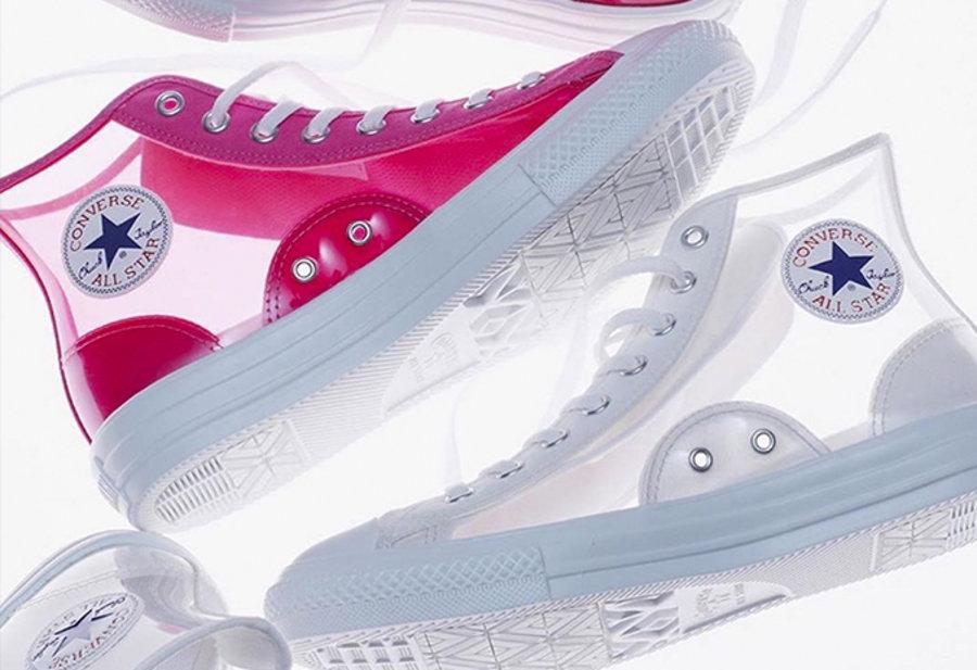 Converse,All Star,发售  酷似 OFF-WHITE 联名!透明 Converse All Star 即将发售