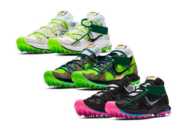 OFF-WHITE,FUTURA,Nike,OW  最快 10 月发售!OW × FUTURA x Nike 三方联名最新实物图曝光!