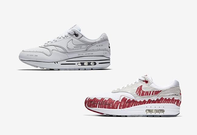 Air Max 1,Nike,发售,CJ4286-100,C  官网链接终于来了!两双手稿 Air Max 1 本周日发售