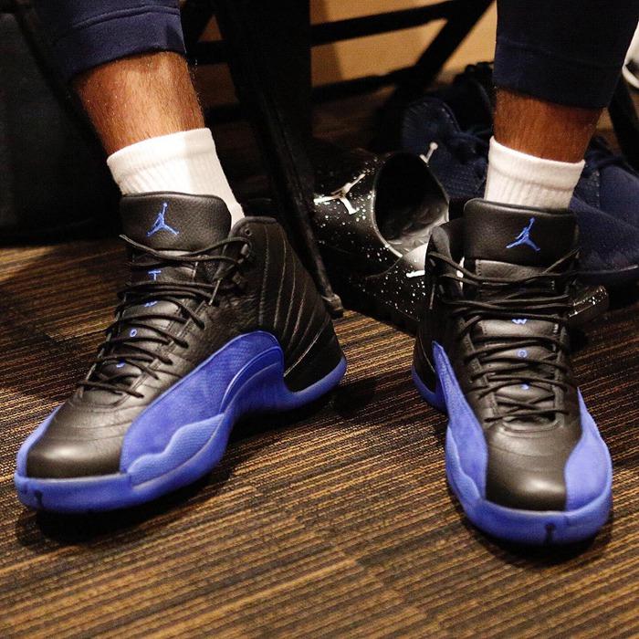 Air Jordan 12,AJ12,Game Royal,  塔图姆提前上脚!接下来的黑蓝 Air Jordan 12 你心动了吗?