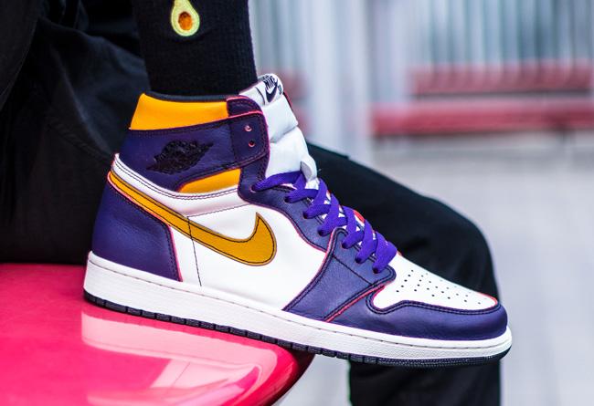 Nike SB,Air Jordan 1,AJ1,LA to  市价破四千!湖人刮刮乐 Nike SB x AJ1 即将补货!