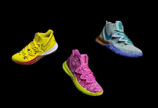 Kyrie 5,Air Jordan 5,AJ5,Air M  「海绵宝宝」你中了吗?明早两双人气新品等你冲!