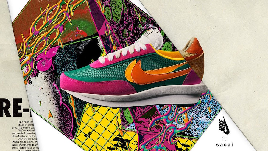 sacai,Nike,BV0073-301,BV0073-0  再次延期发售!想要 sacai x Nike LDV Waffle还得等一个月!