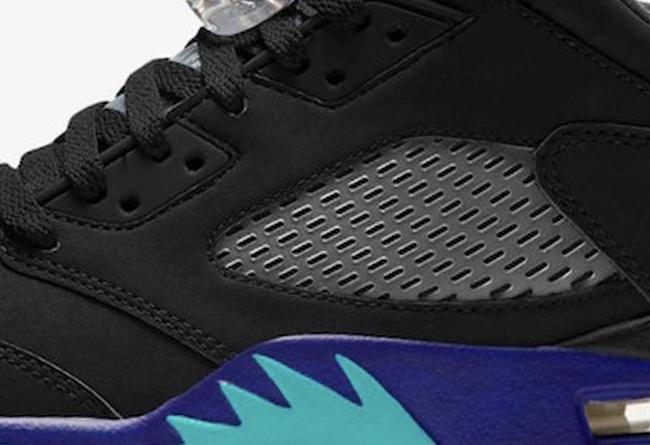 Air Jordan 5,AJ5,发售  黑葡萄 Air Jordan 5 明年回归!只是这个版本有点特殊!