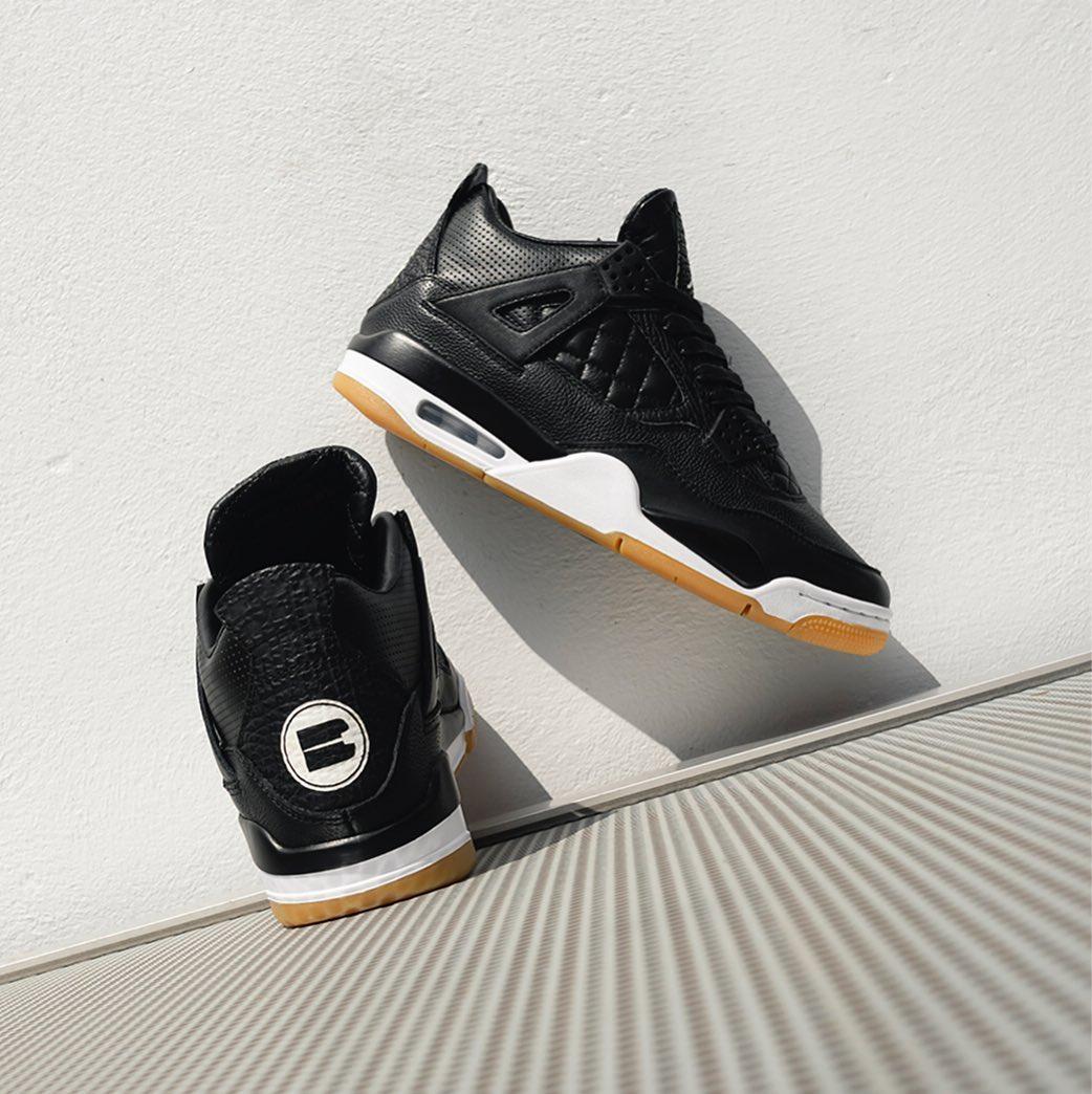 Air Jordan 4,AJ4,发售,bespoke_in  带你过眼瘾!这双 Air Jordan 4 奢华至极,有钱都买不到!