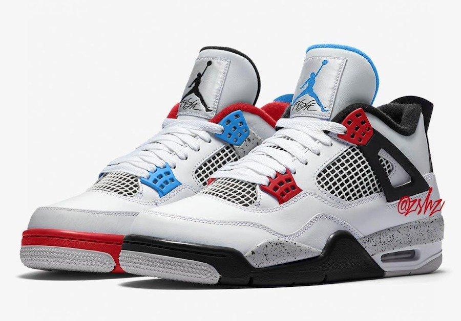 "Air Jordan 4,What The,AJ4,CI11  30 周年重磅配色!Air Jordan 4 ""What The"" 预计 11 月发售!"