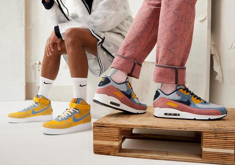 Nike By You,Air Force 1 Low,Ai  Levi's x Nike 联名昨晚上架!居然能玩出这么多花样?