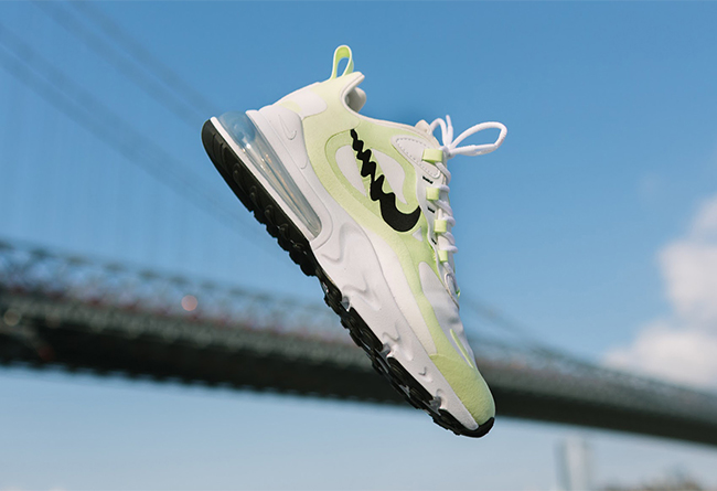 Nike,Air Max 270 React,发售  独特波纹 Swoosh!全新 Nike Air Max 270 React 本周发售!