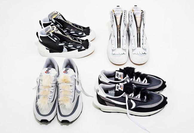 Sacai,Nike,LDV Waffle,Blazer   解构叠加,还能拆分!Sacai x Nike 系列居然还有配件?