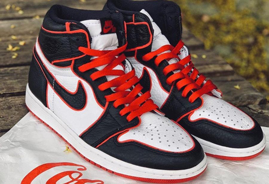 Nike,Air Jordan 1,aj1,发售  年底 AJ1 还有大招!人气最高的黑白红配色,将于 11 月发售
