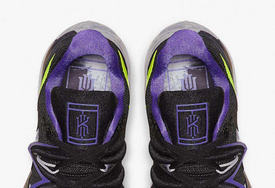 酷似小丑的纽约配色!Kyrie 5 网球鞋发已发售!