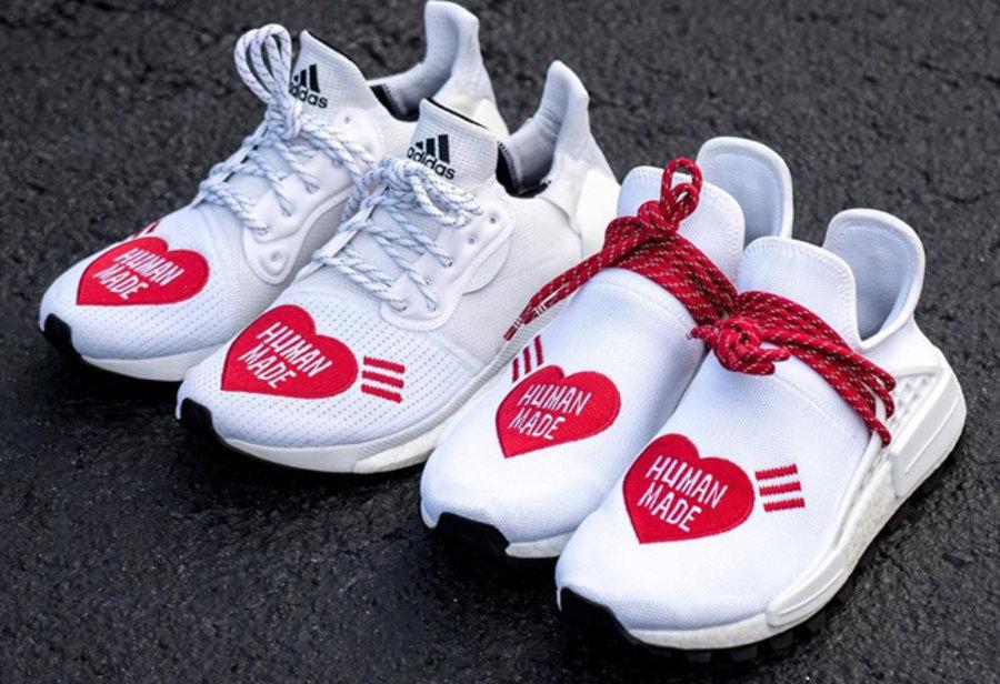 adidas,Human Made,Nigo,Pharrel  菲董这次真拼了!「重磅三方联名」再曝新图,超想要!