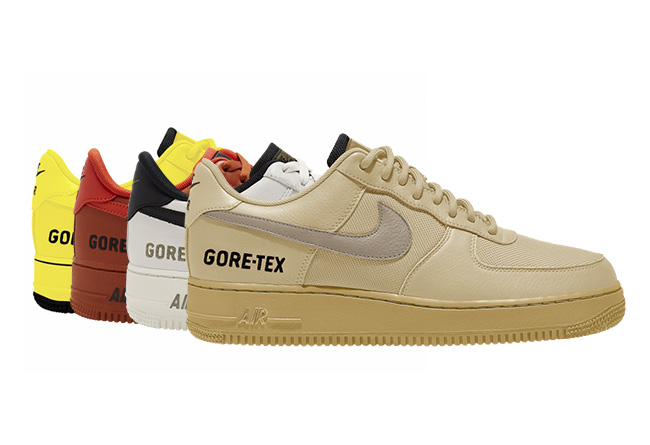 AF1,Air Force 1,Gore-Tex,CK263  罕见的 Gore-Tex 材质鞋面!这 4 双 AF1,整挺好!