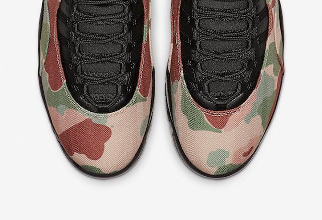 Air Jordan 10,AJ10,Camo,310805  又一款军事风配色!迷彩 Air Jordan 10 即将发售!
