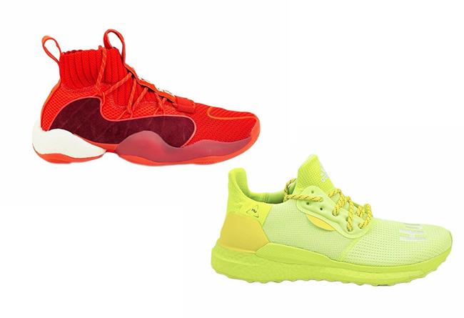BBC,Pharrell,adidas,BYW,Solar  招牌三方联名!2 双亮眼配色 BBC x Pharrell x adidas 闪亮登场!