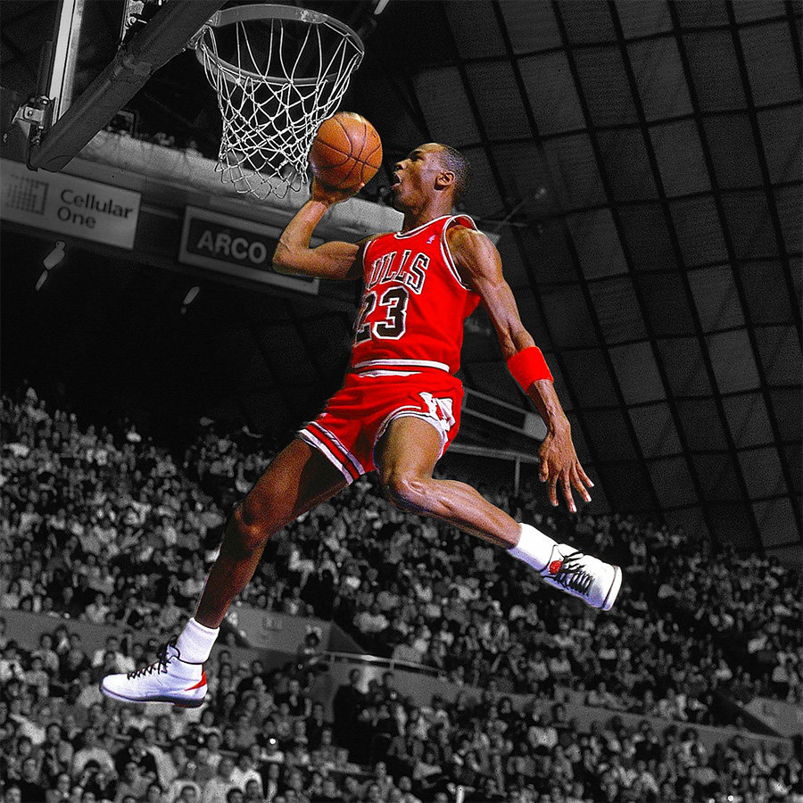 AJ,Michael Jordan,LeBron James  谁是 NBA 最能卖鞋的球星?迈克尔乔丹一个人顶七个!