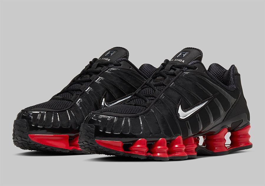 CI0987-001,Shox,Shox TL,Nike,S CI0987-001 经典百搭的黑红!Skepta x Nike Shox TL 联名新品即将发售