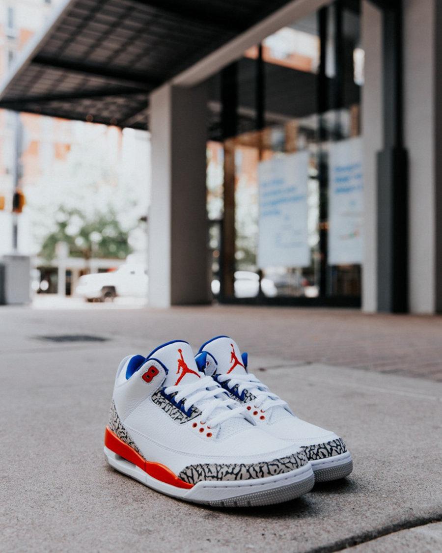 Air Jordan 3,AJ3,Knicks,136064  国内会否同步发售?尼克斯 Air Jordan 3 实物真不赖!