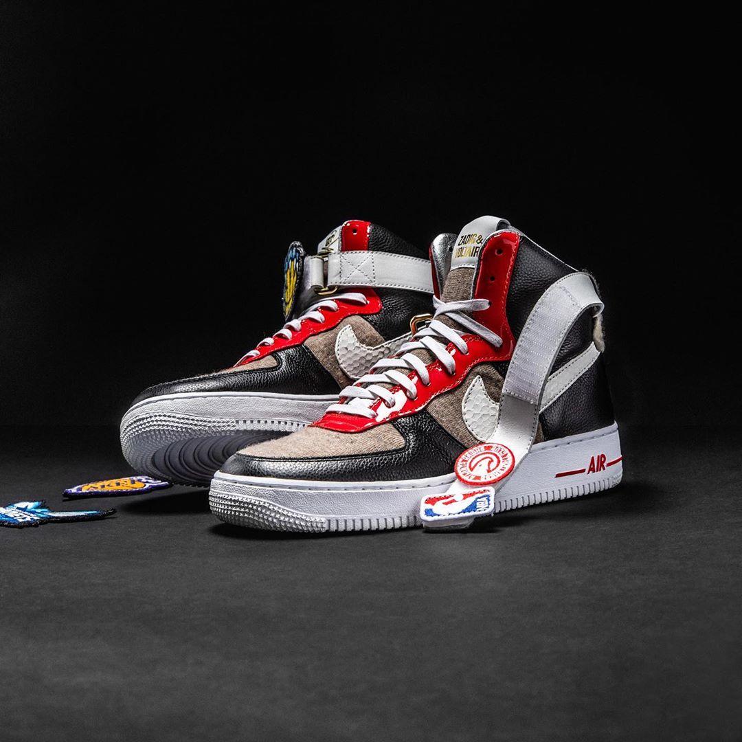 Nike,NBA,AF1,Air Force 1  专为奢侈品牌走秀打造!这五款 NBA x AF1 你最喜欢哪一双?