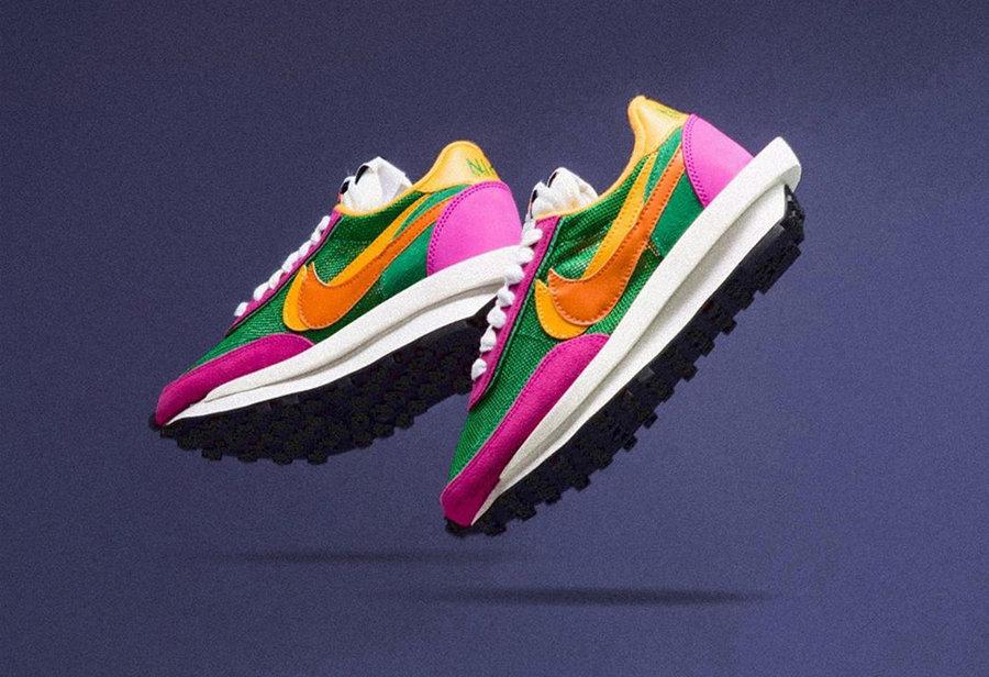 BV0073-301,sacai,Nike,LDWaffle BV0073-301 既有百搭款也有个性款!sacai x Nike 下周发售三款新配色!