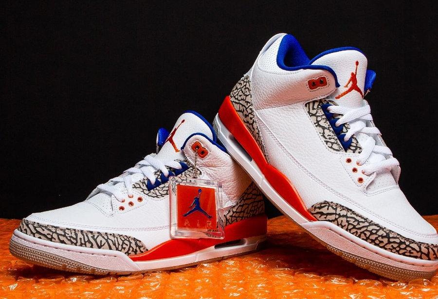 136064-148,AJ3,Air Jordan 3 136064-148 致敬 MJ 神战绩!尼克斯配色 Air Jordan 3 下周发售!