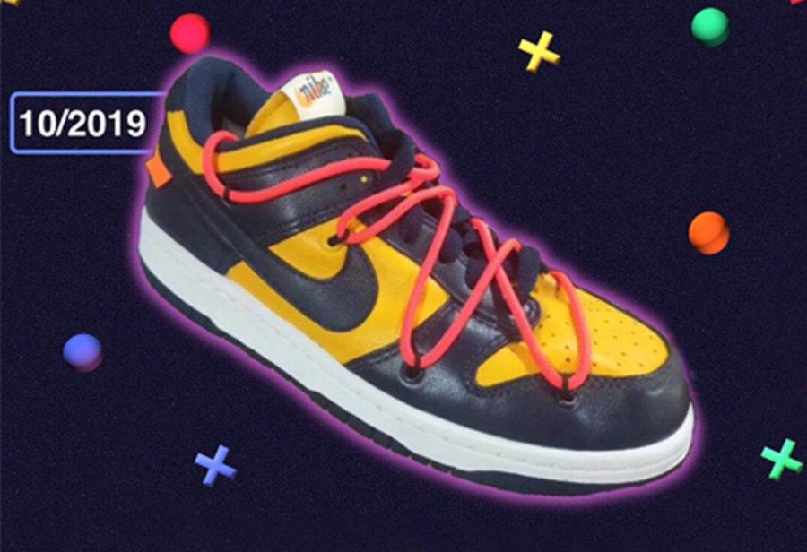 Dunk Low,Nike,OFF-WHITE,OW,  OW x Nike 再曝 Dunk Low 新配色!金字联名将打造 Dunk 盛世!