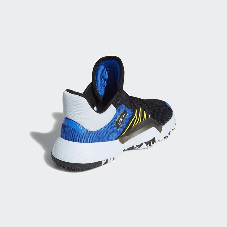 adidas,D.O.N. Issue #1  经典黑蓝搭配!adidas D.O.N. Issue #1 全新配色曝光!