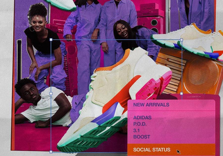 Social Status,adidas,POD-S3.1,  丰富色彩 + 全新鞋面!Social Status x POD-S3.1 本月发售