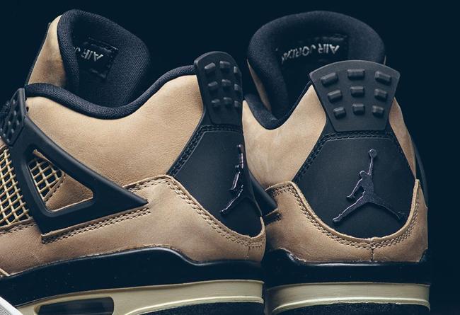 Air Jordan 4,AJ4,发售,Mush room,  「珍珠奶茶」Air Jordan 4 官图释出!会是一双黑马么?