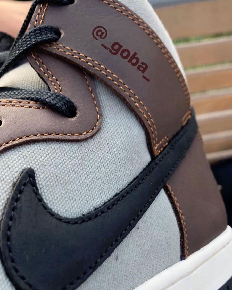 Nike SB Dunk High,BQ6826-201  配色、鞋型都不多见!Nike SB Dunk High 预计 10 月发售!