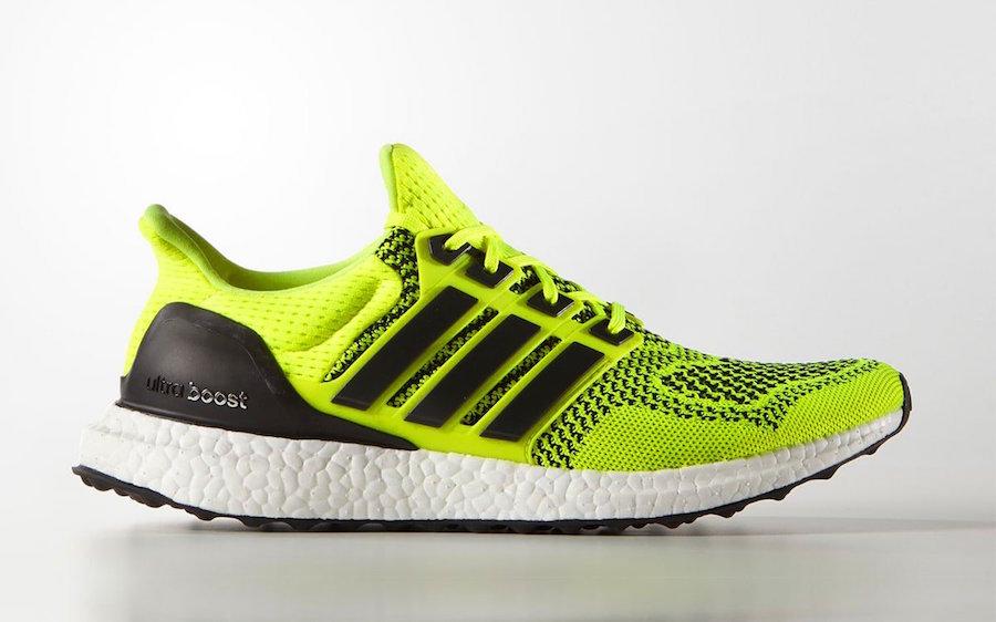 adidas,Ultra Boost,UB,B34050,S  全新荧光色 Ultra Boost 1.0 登场!预计 10 月发售!