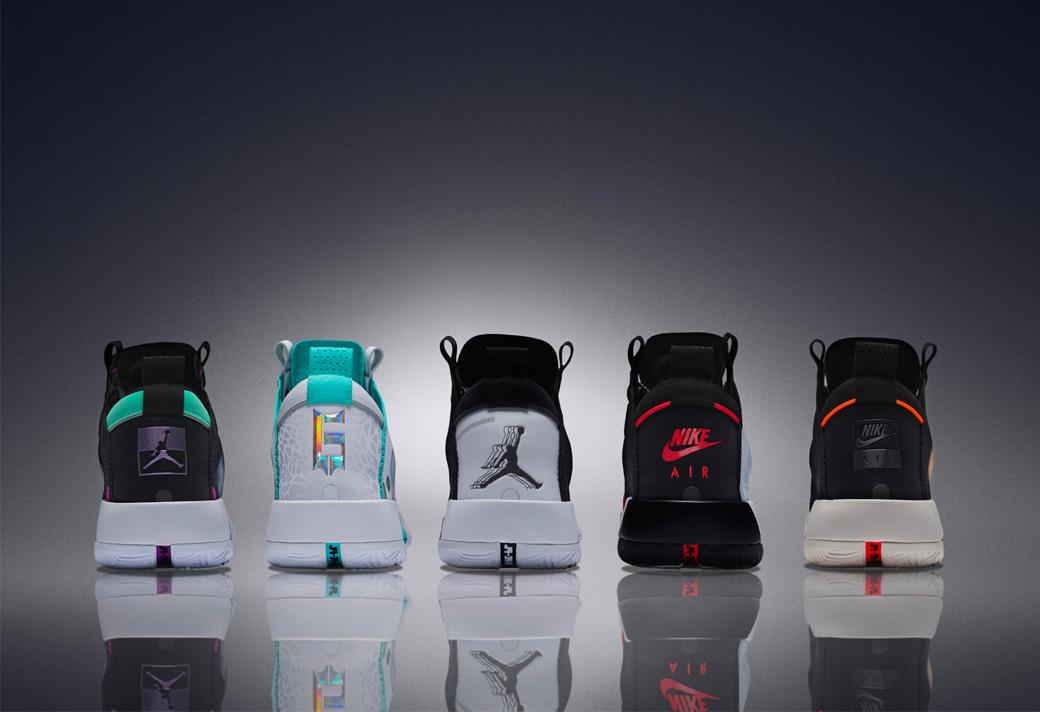 AJ34,Air Jordan 34  一共 5 款配色齐亮相!哪双 Air Jordan 34 你最爱?
