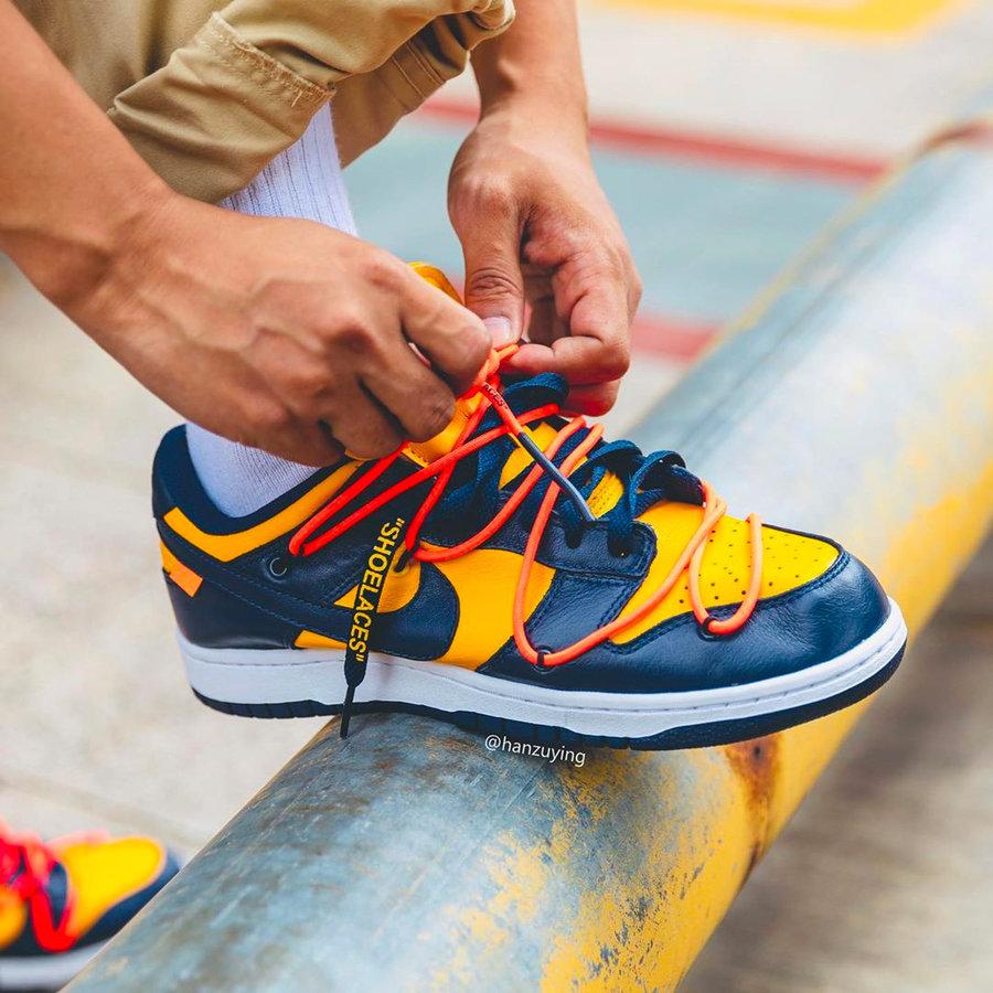 Dunk,Nike Virgil 亲自预告!OW x Dunk Low 终于要发售了!