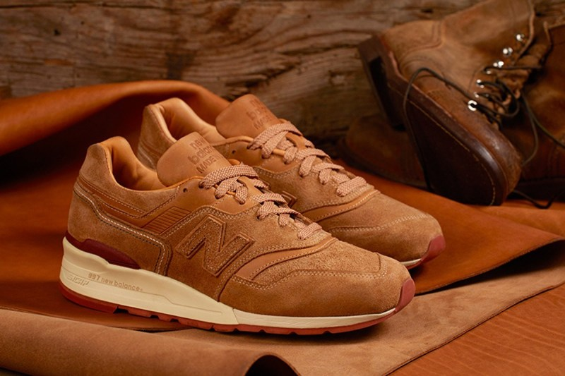 Red Wing,New Balance 997,发售  超乎想象的细腻质感!Red Wing x New Balance 997 本周发售