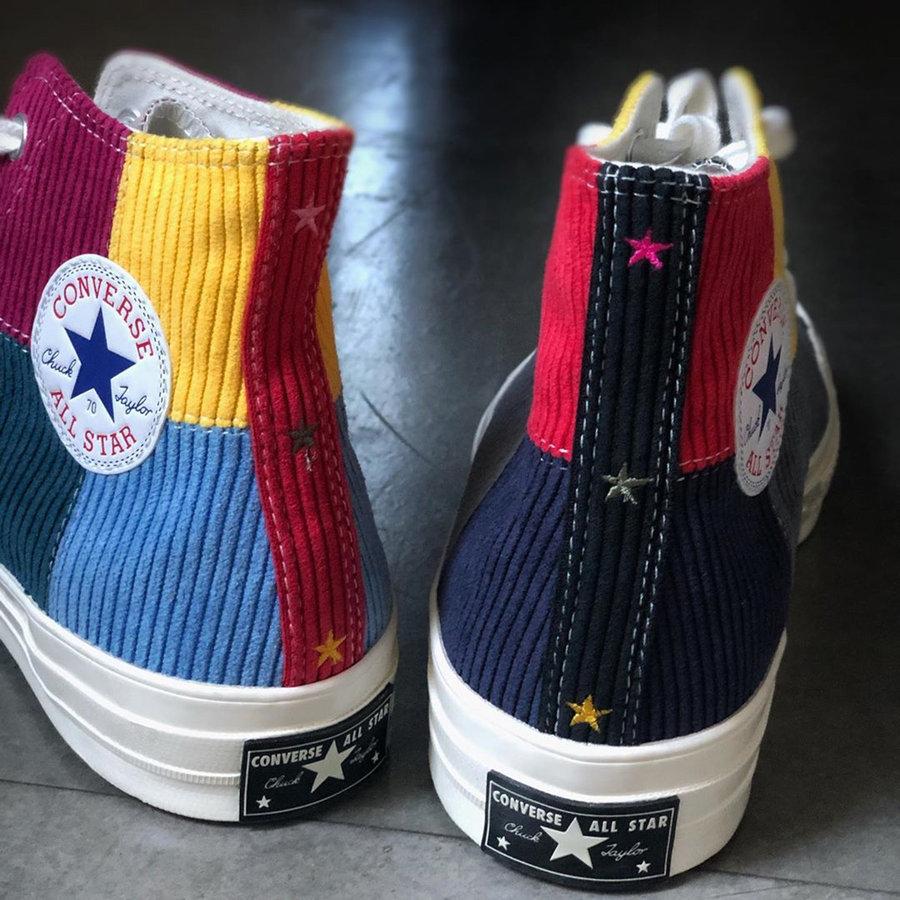 Converse,Offspring,发售  拼接鞋面 + 灯芯绒材质!这款 Offspring x Converse 有点好看!