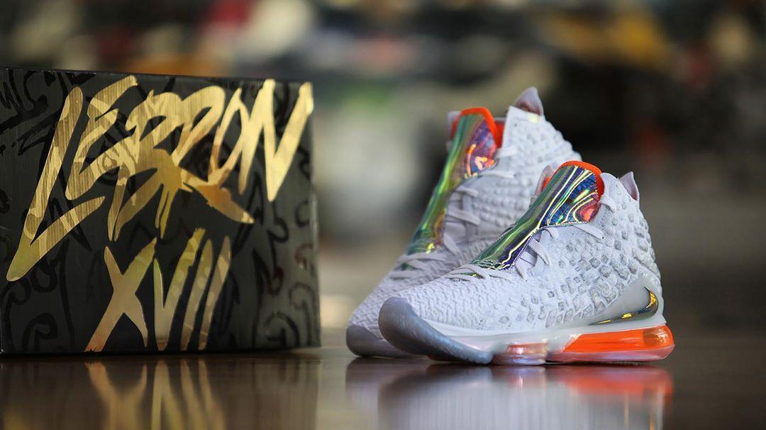 LeBron 17,Nike,发售,future air  LeBron 17 实物美图来了!全新顶级战靴冲不冲?