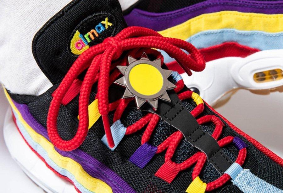 Nike,Air Max 95 SP,CK5669-400  亮眼撞色 + 独特太阳标志!全新 Air Max 95 即将发售!