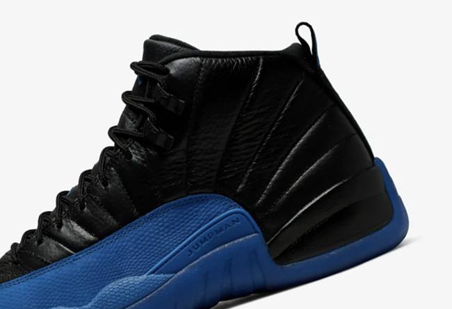 Air Jordan 12,AJ12,发售,130690-0  官网链接终于来了!黑蓝 Air Jordan 12 本周六发售