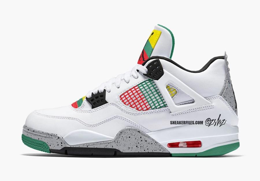 AJ4,Air Jordan 4,AQ9129-100,发售  Gucci 配色的 Air Jordan 4 终于有消息了!只是...