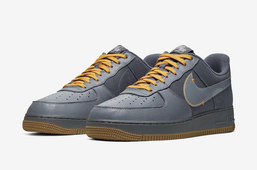Nike,AF1,Air Force 1,CQ6367-00  Swoosh 被放大了!这双全新 Air Force 1 秋冬穿还不错!